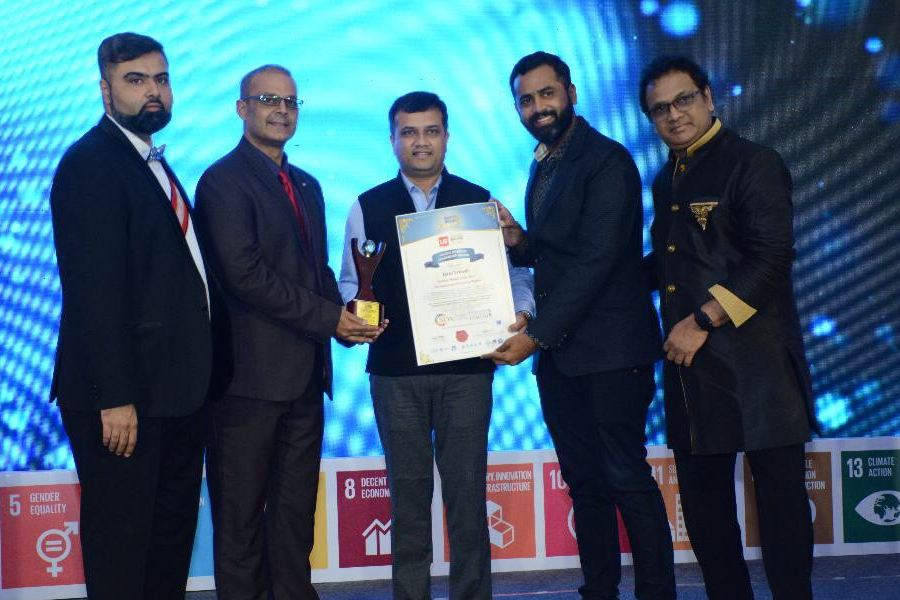 MR. JATIN TRIEDI IS HONOURED WITH IPR ROLE MODEL OF THE YEAR 2018 BY UNITED BRAINZ OF INDIA